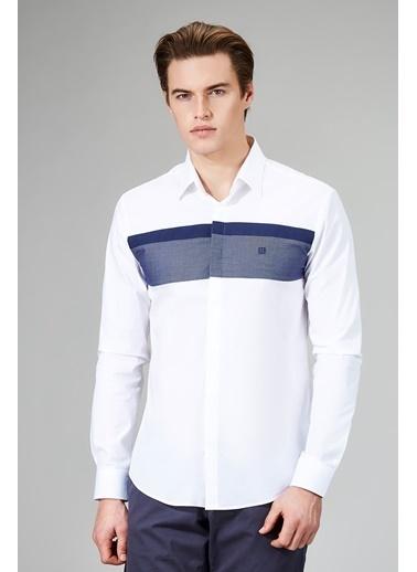 Avva Uzun Kollu Gömlek Beyaz